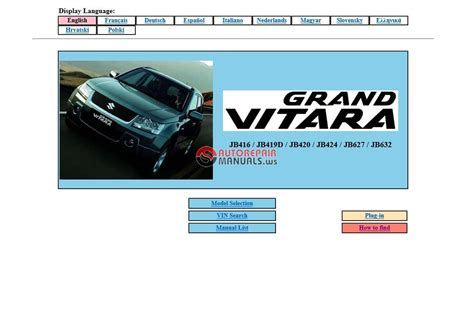 suzuki grand vitara service manual auto repair manual forum heavy equipment forums