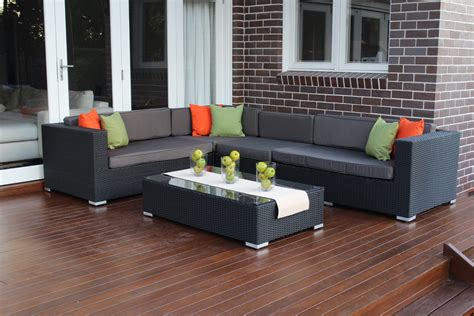 shape modular outdoor wicker furniture setting outdoor