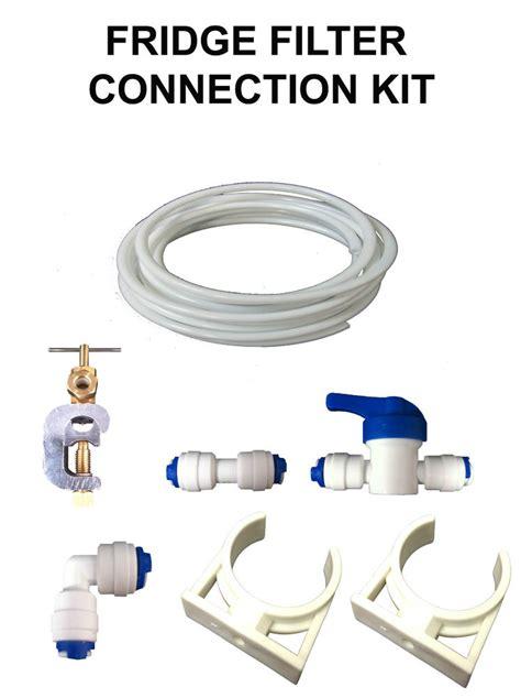 Plumbing A Fridge by Fridge Filter Water Pipe Tubing Hose Connection Plumbing