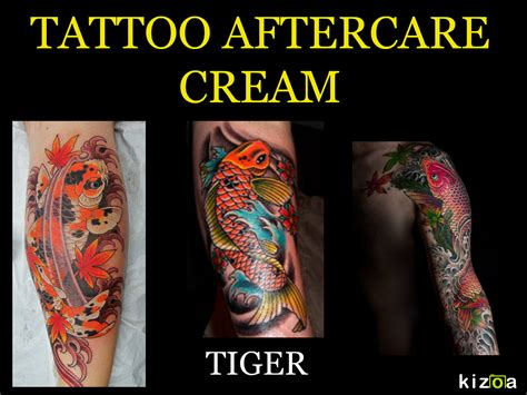 tattoo aftercare cream directions for best results apply aftercare