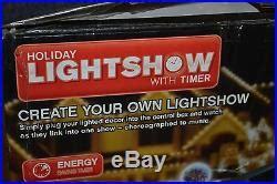 gemmy holiday musical lightshow  timer