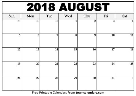 event calendar template august 2018 august 2018 calendar printable template with holidays pdf