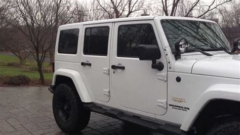 badass white jeep wrangler badass jeep wrangler jk youtube
