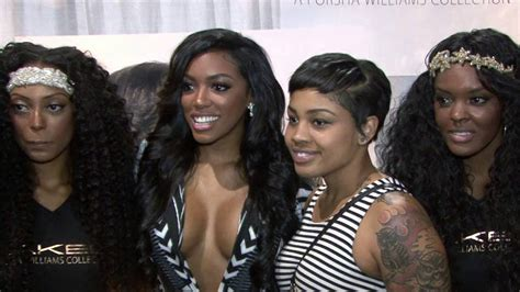 hair reality show reality tv stars at bronner brothers hair show summer 2k15