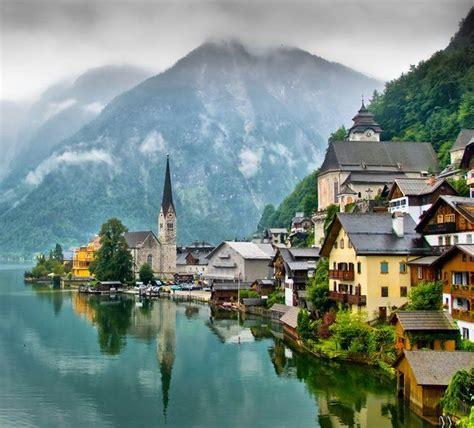 hallstatt austria hallstatt austria outdoors pinterest