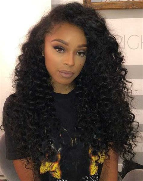 Hairstyles With Curly Weave by 20 Hairstyles For Weaves Hairstyles 2016 2017
