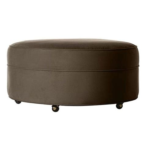 Home Decorators Ottoman Home Decorators Collection Riemann Mocha Accent Ottoman 2301400800 The Home Depot