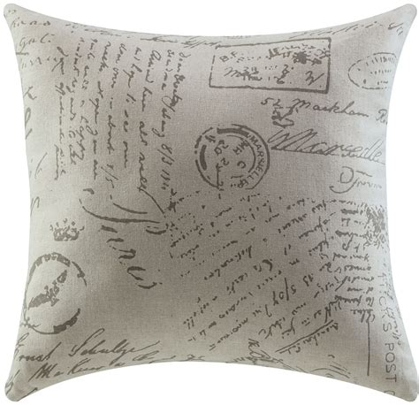Script Pillow by Script Accent Pillow Set Of 2 From Coaster 905030
