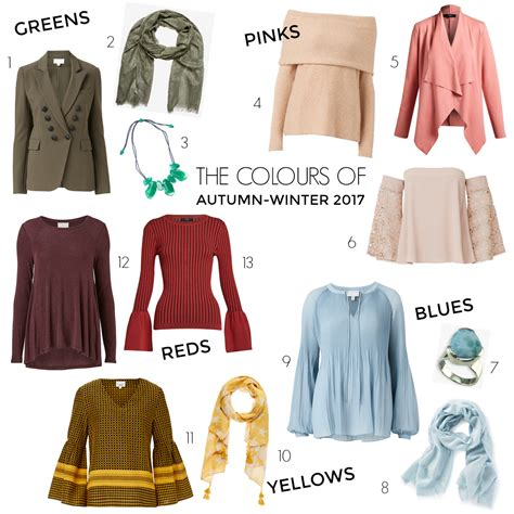 fashion colors for 2017 these are the fashion colours for autumn winter 2017