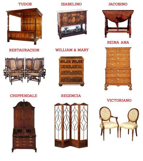muebles  estilos de mueble ingles ebom ebom