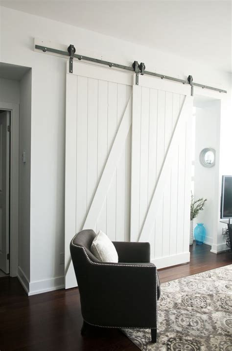 overlapping barn doors isn t that just gorgeous now this condo can be listed as