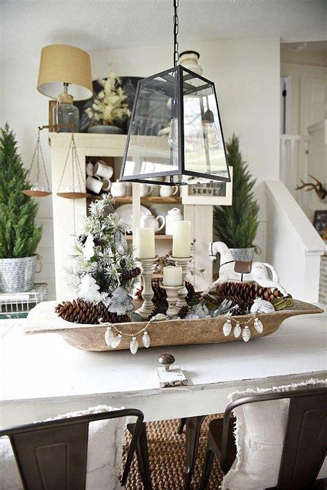 christmas dough bowl centerpiece cottage style decor