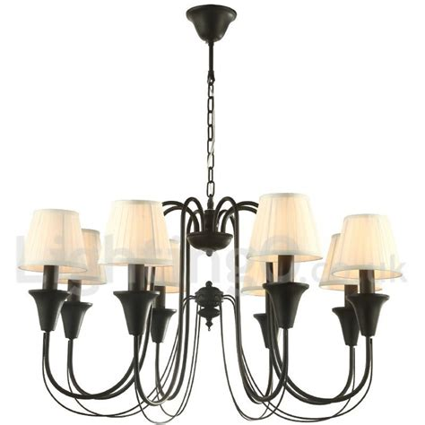 dining room candle chandelier 8 light black living room bedroom dining room retro candle