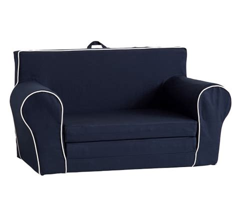 pottery barn kids sofa sofa with piping anywhere sofa lounger with white piping