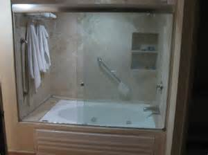 Jacuzzi tub and shower enclosure picture of fiesta