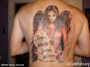 guardian angel tattoos our top 20 favourite designs