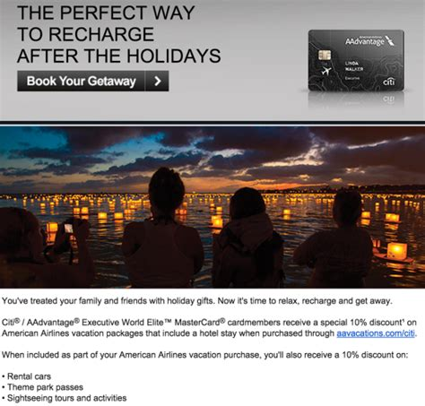American Airlines Discount Gift Card - american airlines vacation discount 10 off vacation packages points miles martinis