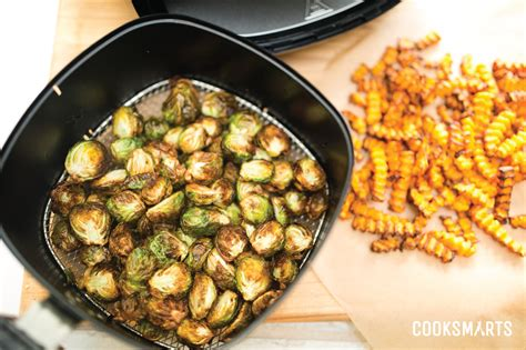 air fried new year snacks how to fry vegetables in an airfryer cook smarts