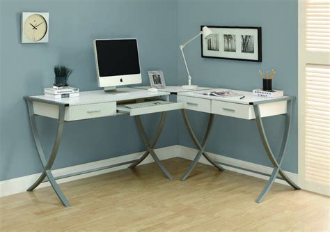 Small White Corner Desk Small White Corner Desk With Drawers Decorative Desk Decoration Throughout Small White Corner