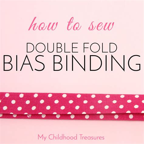 How To Bind A Quilt With Fold Bias by How To Sew Bias Fold Bias For Beginners