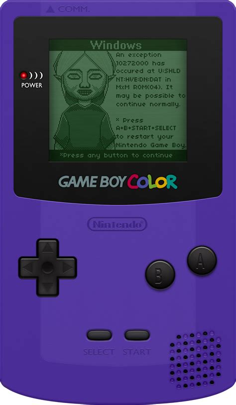 nintendo gameboy color nintendo boy color grape by blueamnesiac on deviantart