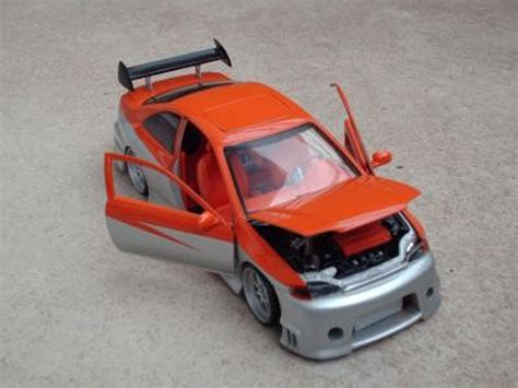 honda civic parotech orange gray ertl diecast model car 1 18 buy sell diecast car on