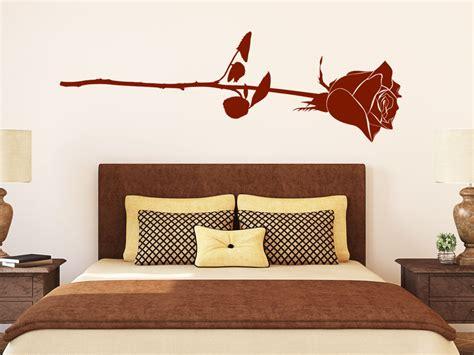 Bett Platzierung Im Schlafzimmer by Wandtattoo Romantische Wandtattoo