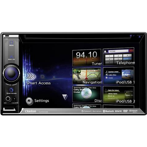 Clarion Auto Stereo by Double Din Car Stereo Clarion Nx503e Im Conrad Online Shop
