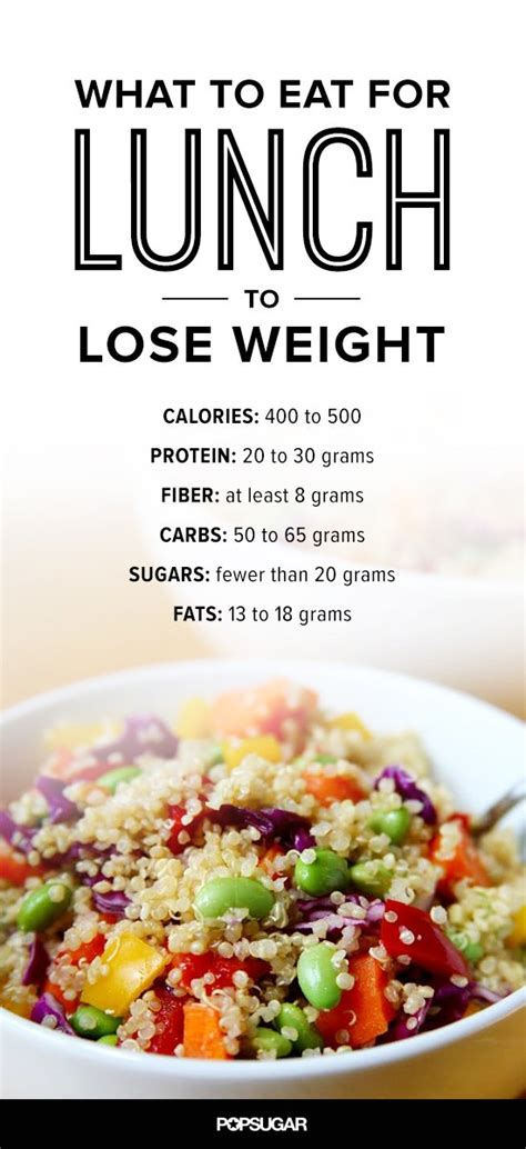 Eat Lose Weight by What To Eat For Lunch To Lose Weight Popsugar Fitness