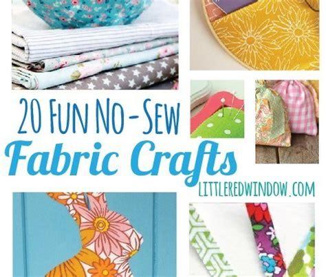 fabric crafts unique 20 no sew fabric craft ideas craft gossip