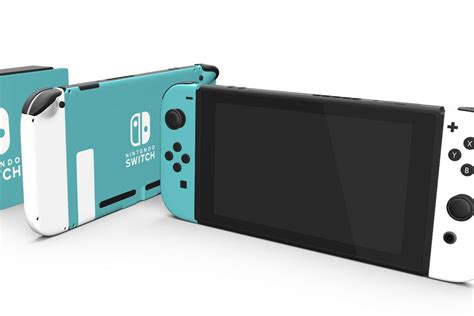 Nintendo Switch you can buy a colorful customized nintendo switch for