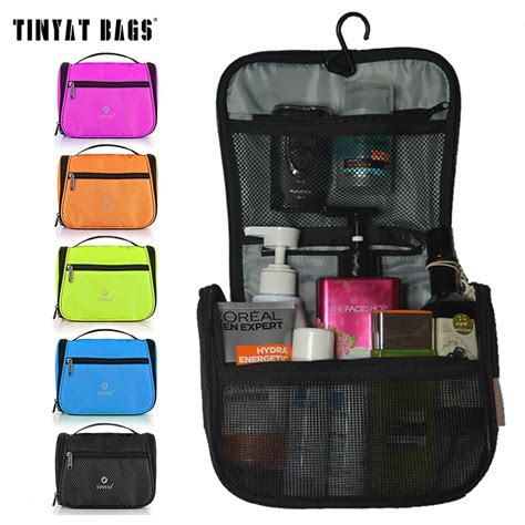 New Travel Toiletries Bag Tas Treveling aliexpress buy tinyat travel wash bag toiletries bag graceful makeup bag