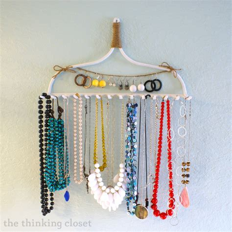 How To Make A Hanger Holder - 15 diy jewelry holders