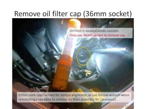 change  volvo    oil filter youtube