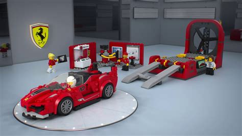 lego fxx k lego 75882 fxx k and development center 3d