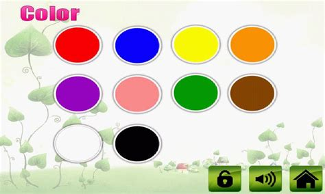 kids color fruit veg shape color for kids android apps on google play
