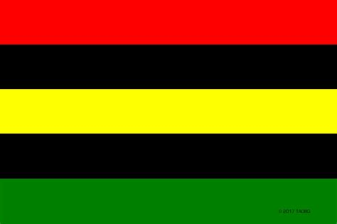 black history month colors global flag a visual signifier of