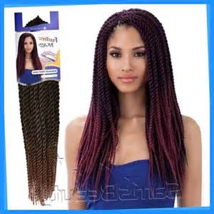 medium size packaged pre twisted hair for crochet braids large senegalese twists long hairstyles