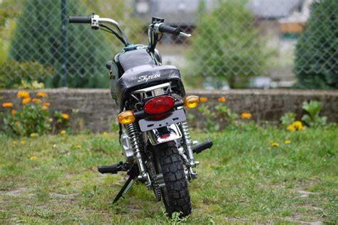 Mini Motorrad Gorilla by Skyteam St 50 8a 50ccm Gorilla Nachbau Skyteam Motorrad