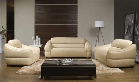cream couch set alyssa contemporary cream leather sofa set