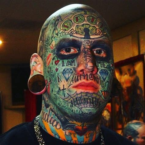 full face tattoo best ideas gallery
