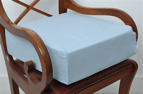 Foam Seat Pads For Dining Chairs Dining Chair Armchair Booster Foam Cushion 5 Inch Thick Seat Pads Sky Blue Ebay
