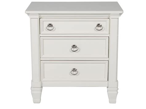 White Dresser And Nightstand White Nightstand Prentice Mathis Brothers