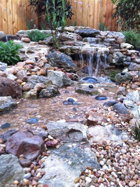 backyard waterfall and stream best 25 backyard stream ideas on pinterest garden