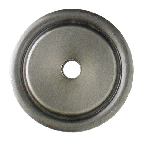 kitchen cabinet pulls with backplates kitchen cabinet backplates raised oval knob backplate