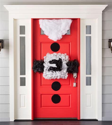 Santa Door by Top 40 Santa Claus Inspired Decoration Ideas