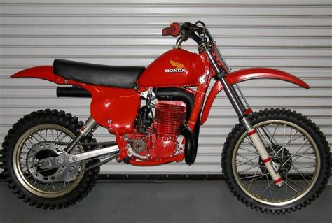 works motocross bikes 1978 honda rc500 works bike dirt bikes vintage and new
