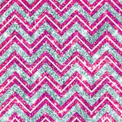 Japanese Home Decor Ideas chevron fake glitter pink blue bling photo art print