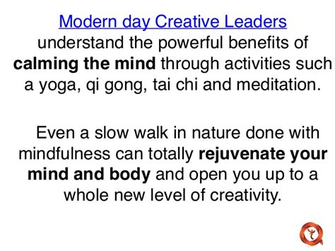 the mindful mind conquer overwhelm calm your mind reduce stress improve productivity create a of abundance books 5 qualities of a modern day creative leader