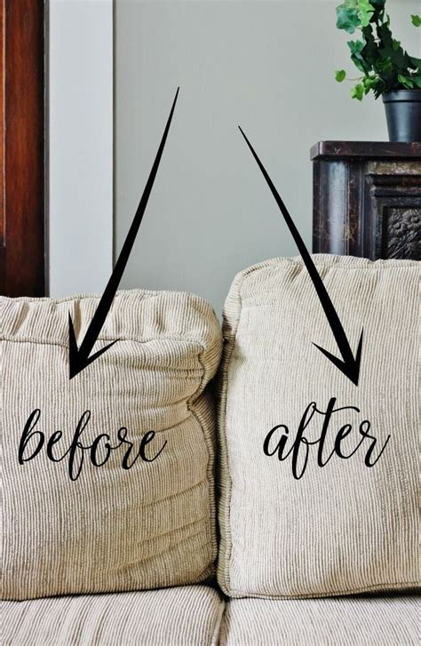 sofa cushions sagging 25 best ideas about couch cushions on pinterest